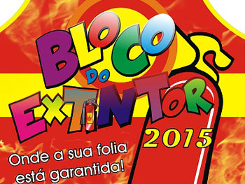 Bloco do Extintor 2015