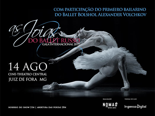 Joias do Balé Russo - Gala Ballet International