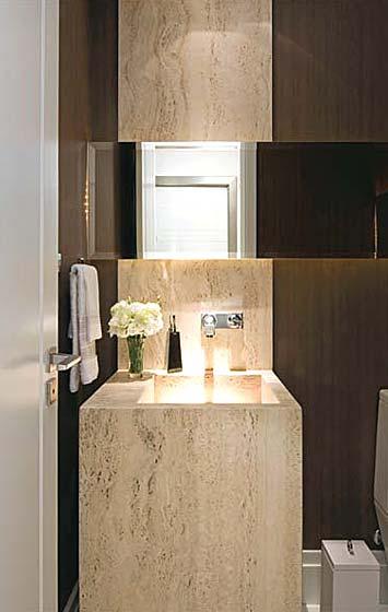 lavabos s o continuidade do espa o social da casa casa. Black Bedroom Furniture Sets. Home Design Ideas