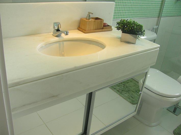 Conheça as diversas opções de cubas de banheiro  ACESSAcom  Casa -> Cuba Banheiro Marmore