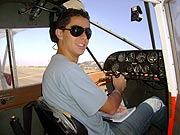 Foto do piloto Fábio Sterci