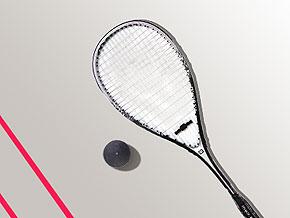 imagem da boa e da raquete