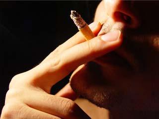 O papel sobre inclinação de nicotina