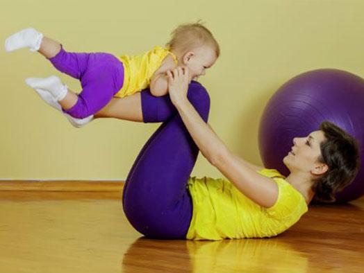 Uma nova modalidade: Baby Pilates!