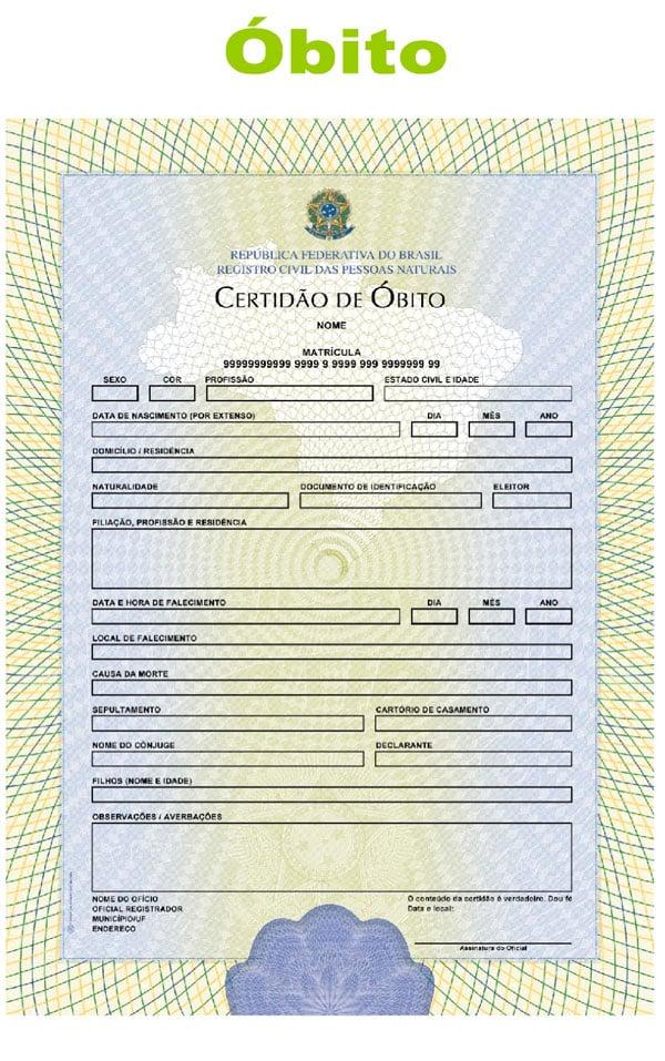 Orientações e papéis para emissão das novas certidões de ...